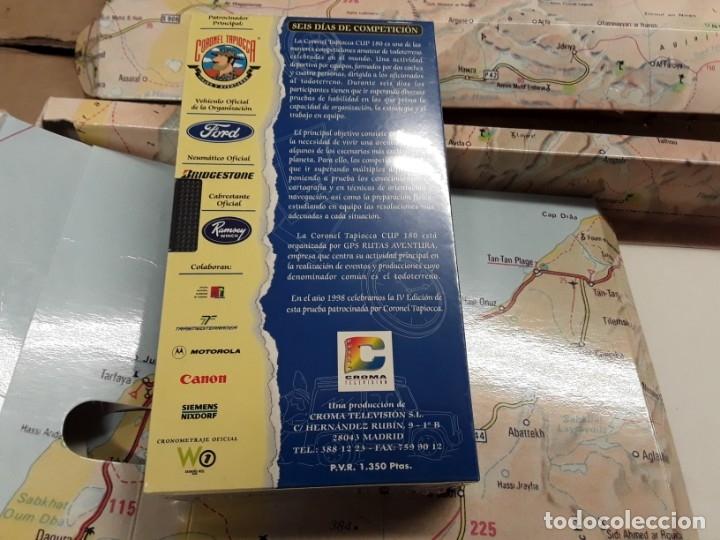Coches: Cup 180 coronel tapioca, libro y cinta vhs.años 90, . - Foto 3 - 146594854