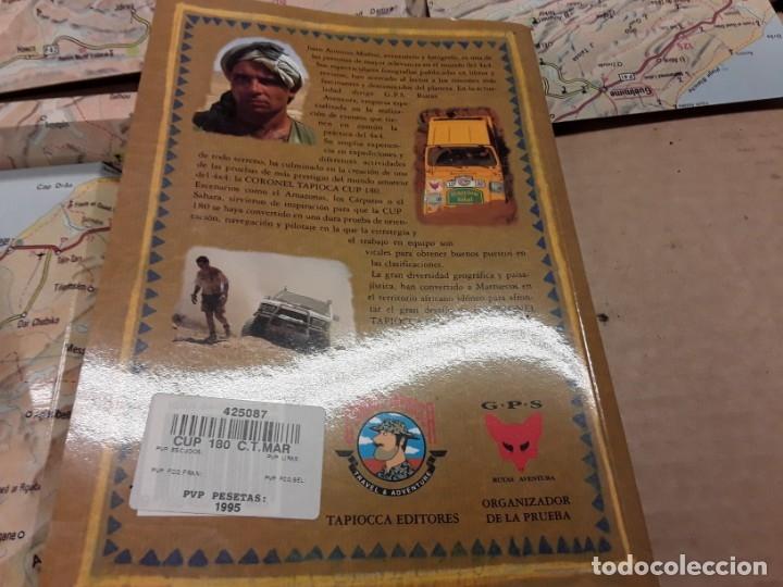 Coches: Cup 180 coronel tapioca, libro y cinta vhs.años 90, . - Foto 5 - 146594854
