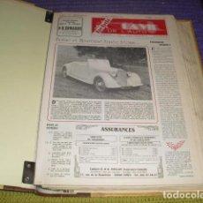 Coches: 24 EJEMPLARES LA VIE DE L 'AUTO - AÑO 1984 -. Lote 146934082