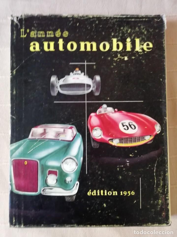 L'ANNÉE AUTOMOBILE 1955-56 (Coches y Motocicletas Antiguas y Clásicas - Revistas de Coches)