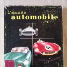 Coches: L'ANNÉE AUTOMOBILE 1955-56. Lote 147340710