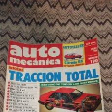 Coches: LOTE 9 NÚMEROS 1986 REVISTA AUTOMECANICA AUTO MECANICA. Lote 147509881