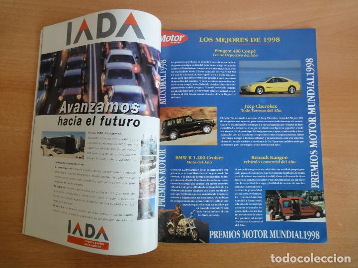 Coches: Revista Motor Mundial. Numero 612. Enero 1998 - Foto 3 - 147514850