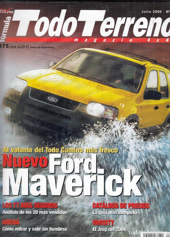 REVISTA TODO TERRENO Nº 3 AÑO 2000. PRU: NLISSAN PATROL GR 3.0 DI.COMP: MITSUBISHI MONTERO 3.2 DI-D (Coches y Motocicletas Antiguas y Clásicas - Revistas de Coches)