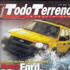 Coches: REVISTA TODO TERRENO Nº 3 AÑO 2000. PRU: NLISSAN PATROL GR 3.0 DI.COMP: MITSUBISHI MONTERO 3.2 DI-D . Lote 147732490