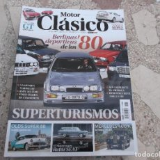 Coches: MOTOR CLASICO Nº 349, DOSSIER BERLINAS DEPORTIVAS,GLAS-BMW GT,MERCEDES 400K,TOYOTA SUPRA. Lote 147988878