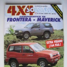 Coches: REVISTA SOLO AUTO 4X4 - Nº 144 - JULIO / AGOSTO 1995.. Lote 148212278