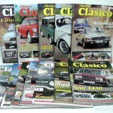Coches: AÑO 2004 COMPLETO-MOTOR CLASICO 12 REVISTAS N.192.193.194.195.196.197.198...203-COCHE MOTO REVISTA. Lote 148221666
