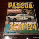 Coches: REVISTA AUTOPISTA - Nº 634/635 AÑO 1971 OTRO SEAT 124. Lote 149499982