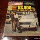 Coches: REVISTA AUTOPISTA Nº 637 AÑO 1971. SEAT 124 D INFORME COMPLETO. Lote 149581518