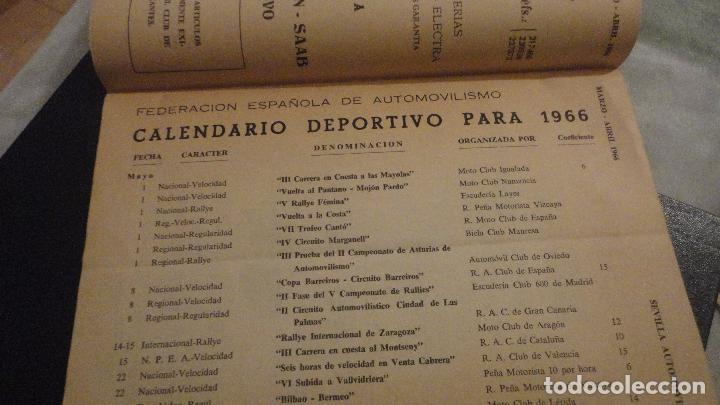 Coches: REVISTA SEVILLA AUTOMOVILISTA.REAL CLUB DE ANDALUCIA.Nº 317 1966 - Foto 4 - 149640722