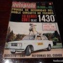 Coches: REVISTA AUTOPISTA Nº 659 AÑO 1971. FRENOS: SEAT 1430.POSTER FORD CAPRI Y ESCORT. Lote 149832186