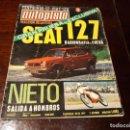 Coches: REVISTA AUTOPISTA Nº 660 AÑO 1971. PRUEBA: SEAT 127.. Lote 149832310