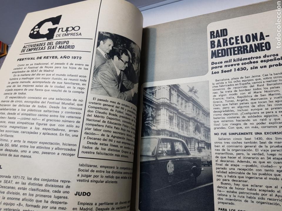 Coches: LOTE SEAT 72 UN BOLETÍN DE EMPRESA ENERO-FEBRERO 1972 Y REVISTA Nº 64 JUNIO 1972 EN BUEN ESTADO - Foto 4 - 150161549