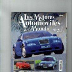 Coches: LOS MEJORES AUTOMÓVILES DEL MUNDO 1999. Lote 150232010