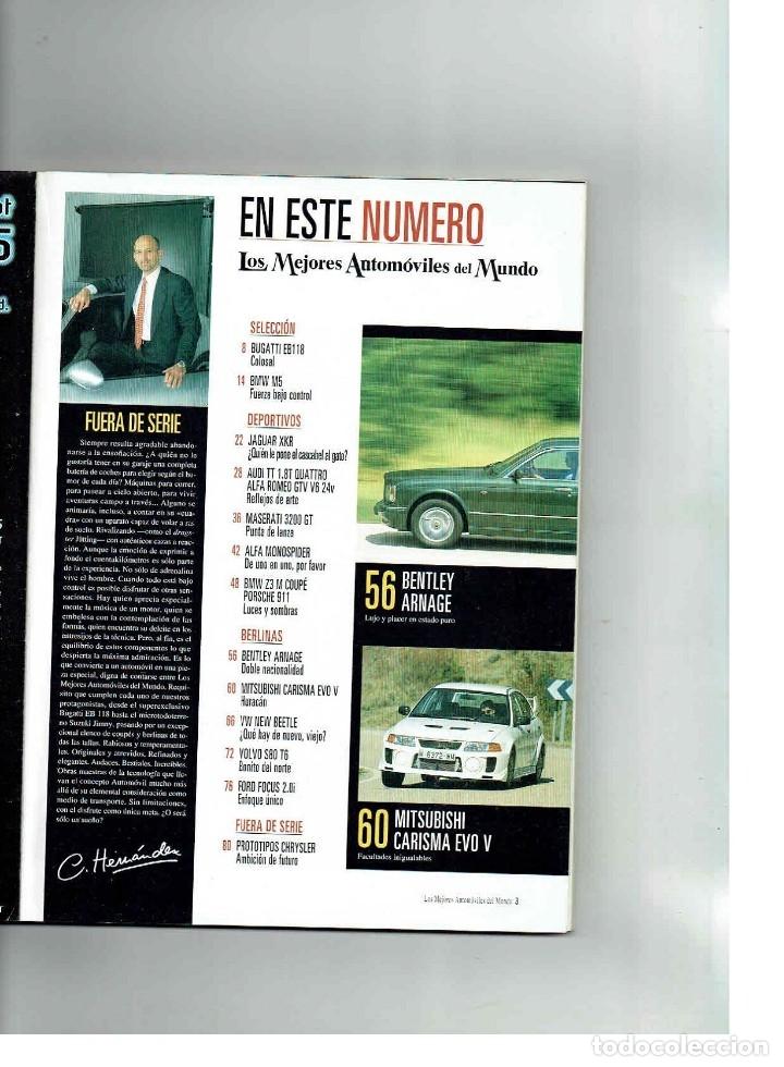 Coches: LOS MEJORES AUTOMÓVILES DEL MUNDO 1999 - Foto 2 - 150232010