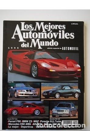 LOS MEJORES AUTOMÓVILES DEL MUNDO 1998 (Coches y Motocicletas Antiguas y Clásicas - Revistas de Coches)