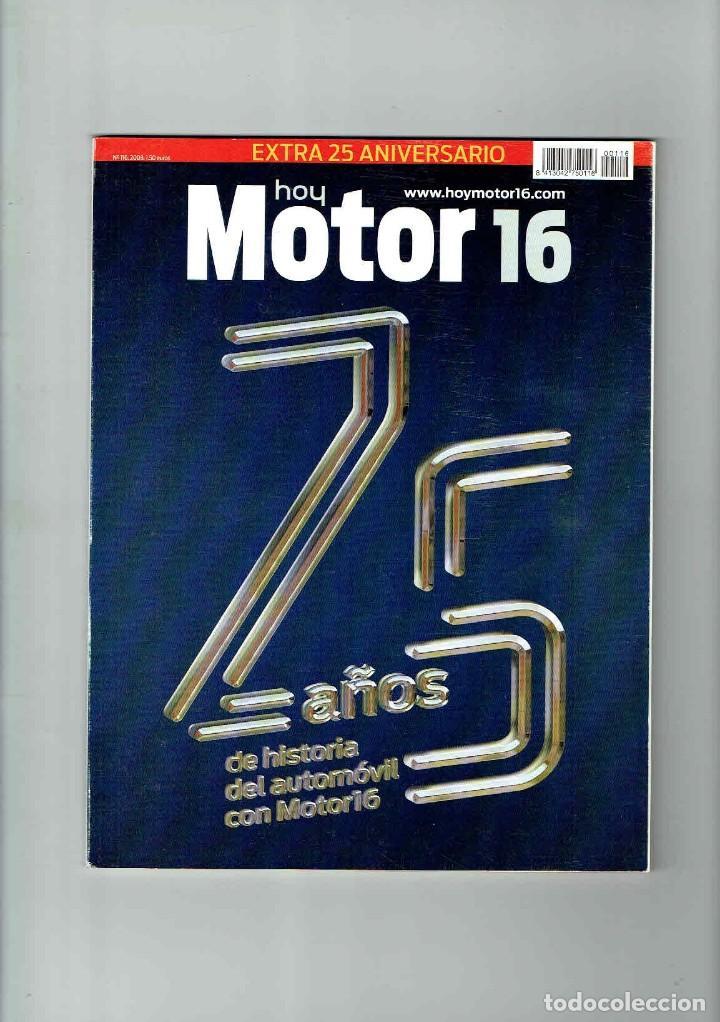 CATÁLOGO MOTOR 16 ESPECIAL 25 AÑOS (Coches y Motocicletas Antiguas y Clásicas - Revistas de Coches)