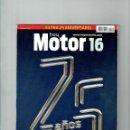 Coches: CATÁLOGO MOTOR 16 ESPECIAL 25 AÑOS. Lote 150234002