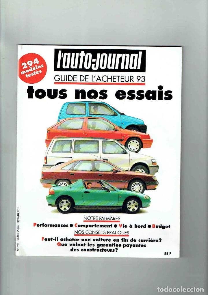Coches: REVISTA LAUTO JOURNAL ESPECIAL PRUEBAS 1993 - Foto 1 - 150256778