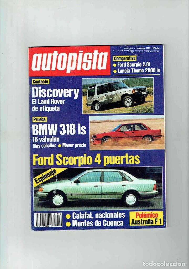 Coches: REVISTA AUTOPISTA Nº 1582 BMW 318 Is - Foto 1 - 150260542