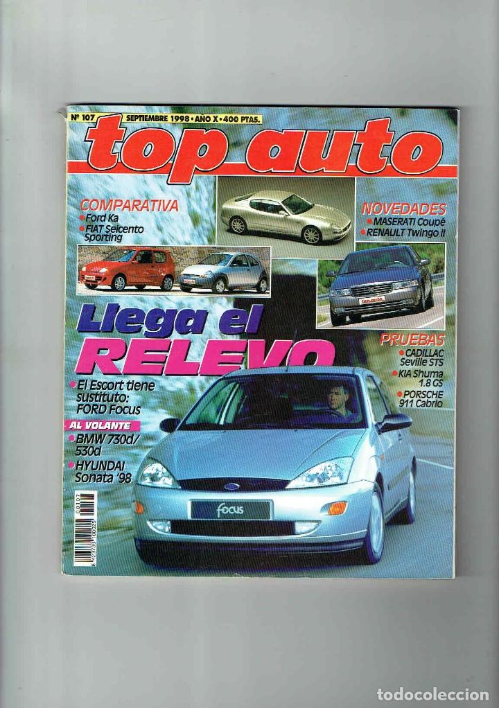 Coches: REVISTA TOP AUTO Nº 107- 1998 - Foto 1 - 150263910