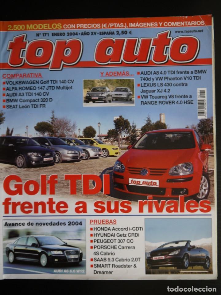 REVISTA TOP AUTO Nº 171 (Coches y Motocicletas Antiguas y Clásicas - Revistas de Coches)