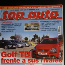 Coches: REVISTA TOP AUTO Nº 171. Lote 150265418