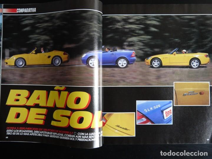 Coches: REVISTA TOP AUTO Nº 130- HONDA S200- METCEDES SLK- PORSCHE BOXSTER - Foto 2 - 150272062