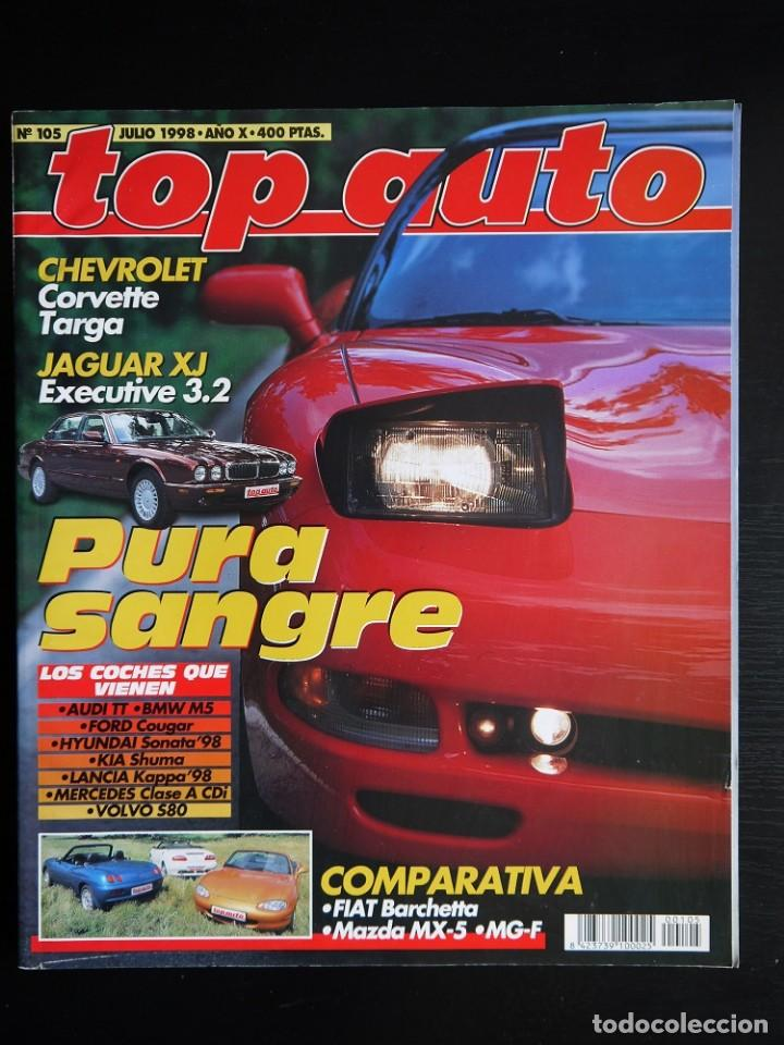 Coches: REVISTA TOP AUTO Nº 105- 1998 - Foto 1 - 150273514