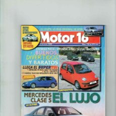 Coches: REVISTA MOTOR 16 Nº 770. Lote 150279818