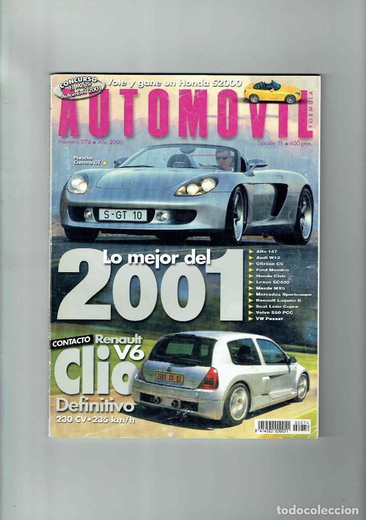 REVISTA AUTOMÓVIL Nº 274 (Coches y Motocicletas Antiguas y Clásicas - Revistas de Coches)