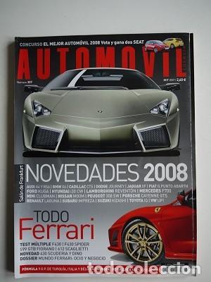 REVISTA AUTOMÓVIL Nº 357 ESPECIAL FERRARI (Coches y Motocicletas Antiguas y Clásicas - Revistas de Coches)