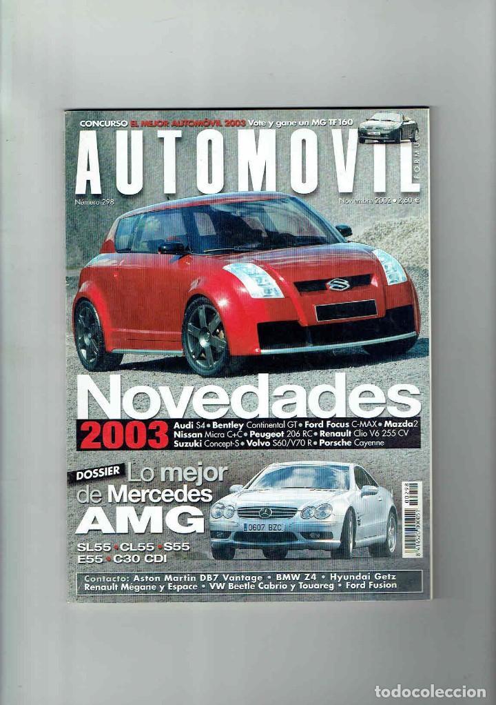 REVISTA AUTOMÓVIL Nº 298 (Coches y Motocicletas Antiguas y Clásicas - Revistas de Coches)