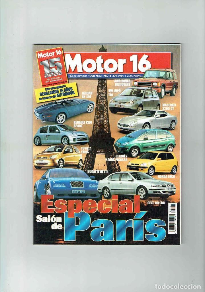 REVISTA MOTOR 16 Nº 782 (Coches y Motocicletas Antiguas y Clásicas - Revistas de Coches)