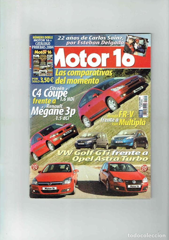 REVISTA MOTOR 16 Nº 1103 (Coches y Motocicletas Antiguas y Clásicas - Revistas de Coches)