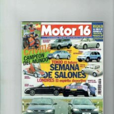 Coches: REVISTA MOTOR 16 Nº 837. Lote 150402222