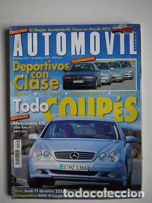 REVISTA AUTOMÓVIL Nº 262 (Coches y Motocicletas Antiguas y Clásicas - Revistas de Coches)