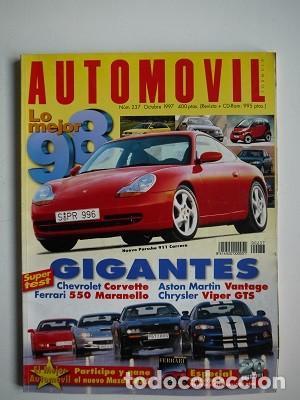 REVISTA AUTOMÓVIL Nº 237 (Coches y Motocicletas Antiguas y Clásicas - Revistas de Coches)