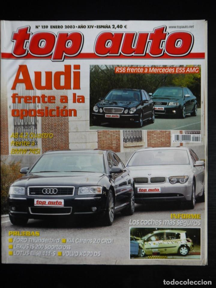 REVISTA TOP AUTO Nº 159 (Coches y Motocicletas Antiguas y Clásicas - Revistas de Coches)