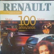 Coches: REVISTA CIEN AÑOS RENAULT. 1998. Lote 150759178