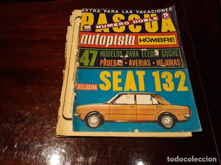 REVISTA AUTOPISTA Nº 685 / 686 AÑO 1972 DODGE 3700 GT - CAMION BARREIROS - (Coches y Motocicletas Antiguas y Clásicas - Revistas de Coches)