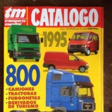 Coches: REVISTA CATALOGO TRANSPORTE MUNDIAL NUMERO 7 DE 1995 IVECO PEGASO RENAULT VOLVO SCANIA. Lote 152113662