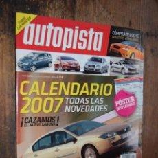 Coches: AUTOPISTA Nº 2474, DICIEMBRE 2006, NOVEDADES 2007. Lote 152263174