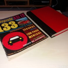 Coches: LOTE REVISTAS AUTOPISTA - AÑO 1974. Lote 152631577
