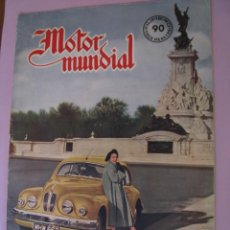 Coches: REVISTA MOTOR MUNDIAL Nº 90 FEBRERO 1952.. Lote 152827106