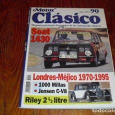 Coches: MOTOR CLÁSICO Nº 90 - 1995 - SEAT 1430 - SANGLAS 350 DE 1945 -. Lote 152924310