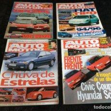 Coches: REVISTAS AUTOMOTOR, AÑO 1994. LOTE DE 12 REVISTAS. AÑO COMPLETO. Lote 153195626
