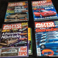 Coches: REVISTAS AUTOMOTOR, AÑO 1995. LOTE DE 12 REVISTAS. AÑO COMPLETO. Lote 153215094