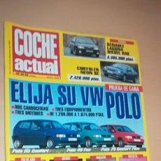 Coches: REVISTA COCHE ACTUAL 348 - DICIEMBRE 1994 VW POLO, . Lote 153577782